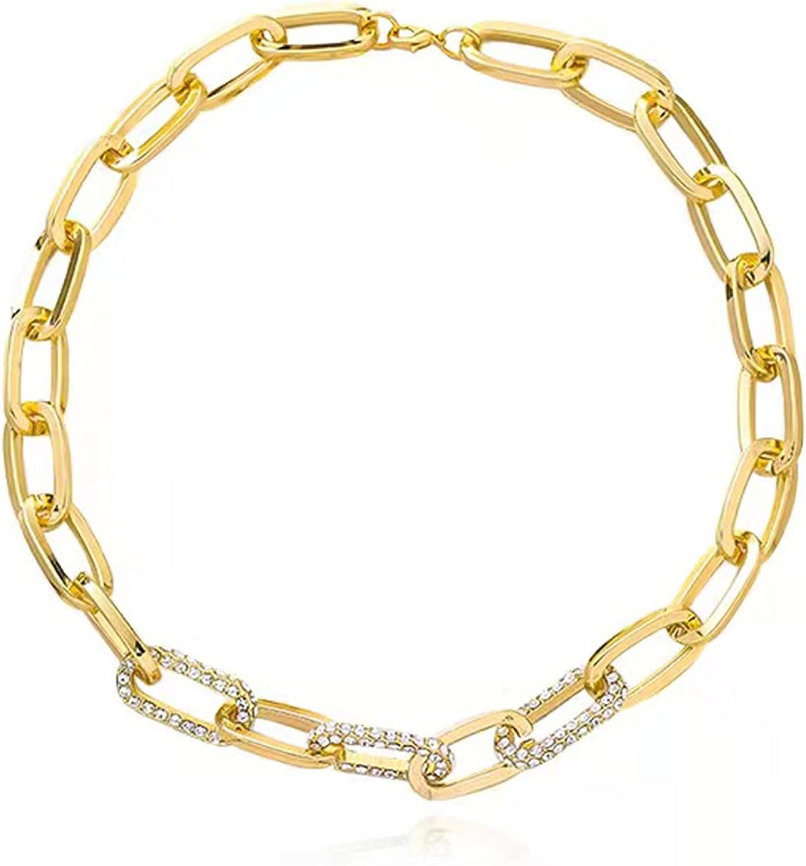 Gold Diamond Necklace for Women Handmade Choker 14k Gold Friends Birthday Gifts for Women