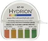 Micro Essential Laboratory QT-10 Hydroid Quit Test Paper, 0-400 ppm (Pack of 10)