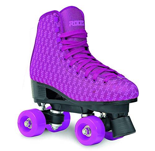 Roces Classic Figure Quad Roller Skate Rollschuhe Mania lila Uk 1,5 Euro 34 (Uk 2 Euro 35)