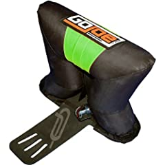 The original and only leashless board retrieval device! Easily applied or removed from any kiteboard accepting a grab handle Leashes are dangerous! The Go Joe will safely flip your board over and return it down wind to you without a leash!