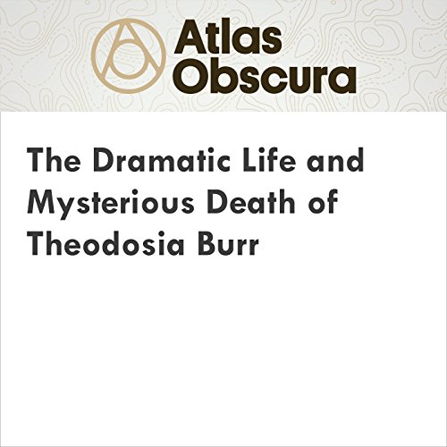 The Dramatic Life and Mysterious Death of Theodosia Burr cover art