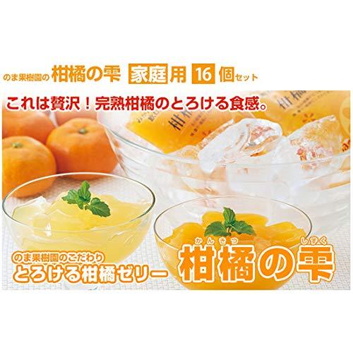 4種セット 柑橘の雫(しずく) 極上飲むゼリー 16個入り(贈答用・化粧箱入)