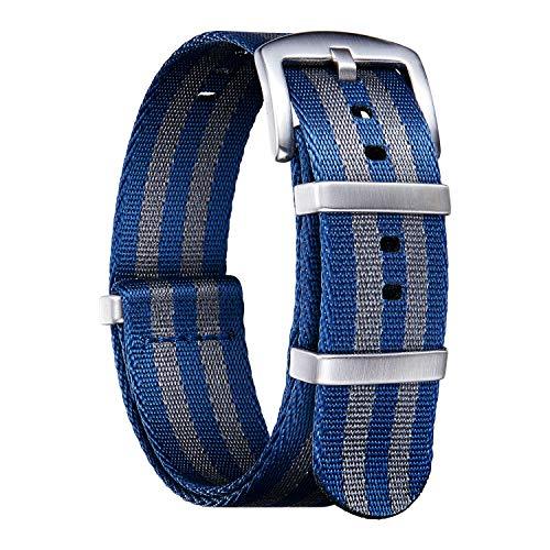 NATO Cinturini di ricambio di ricambio in nylon multicolore balistico G10...