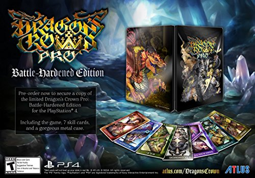 Dragon's Crown Pro: Battle Hardened Edition - PlayStation 4 Free Region Sub ITA