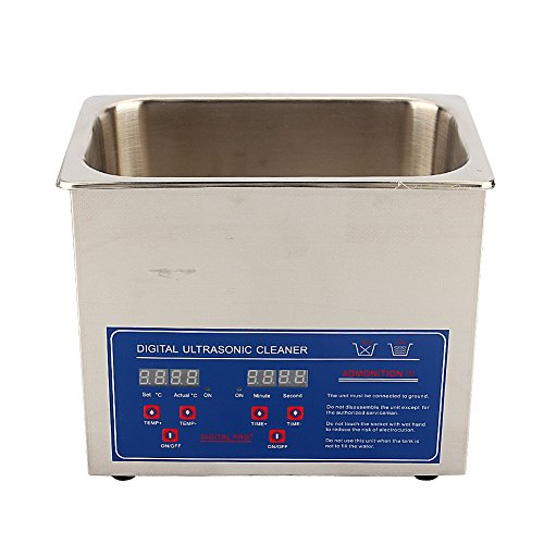Yosoo 3L Ultrasonic Cleaner, Stainless Steel Digital Ultrasonic Cleaner...