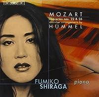 Mozart: Piano Concertos Nos.22 & 26, arr. by Hummel by Fumiko Shiraga (2006-08-29)