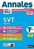 Annales Bac 2021 SVT Terminale