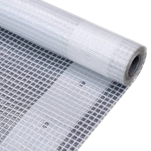 LONGMHKO Lona Impermeable 260 g/m² 2x3 m Blanca Dimensiones: 2 x 3 m (Anchura x Longitud)