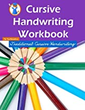 Cursive Handwriting Workbook: Workbooks for 1st Graders Through 3rd Graders (80 Pages)