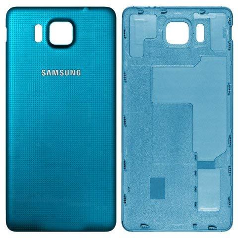 Original Akkufachdeckel Blue für Samsung G850F Galaxy Alpha Original
