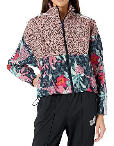 adidas Originals Damen Track Top Jacke, Mehrfarbig, Klein