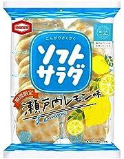 亀田製菓 ソフトサラダ 瀬戸内レモン味 18枚×12個