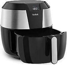 Tefal XXL Easy Fry Low Fat Digital Air Fryer, Stainless Steel/Black, EY701D27