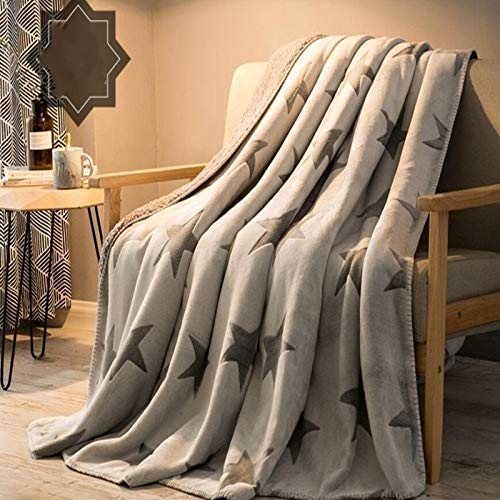 BZRXQR Versátil Paño Grueso y Suave Manta de Felpa Franela Manta de Invierno Tiro Caliente Manta del sofá Cama Hoja de Hogares sofá (Color : 1, Size : 150x200cm)