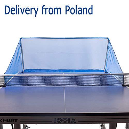 Isunking Tischtennis Ball Fangnetz - Tischtennisball Sammelnetz Tragbares Tischtennis Trainingsgerät