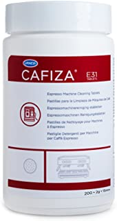 Urnex Cafiza Professional Espresso Machine Cleaning Tablets, 200 Count