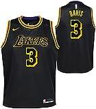 Anthony Davis Los Angeles Lakers Youth 8-20 Black Mamba Edition Swingman Jersey (8, s)