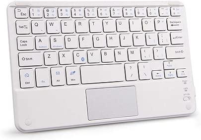 Faltbare Bluetooth-Tastatur Mit Touchpad Drahtlose Schlanke Tragbare Minitastatur F r Tablet-Telefone Laptop-Desktops Und Andere Bluetooth-Ger te Gray Schätzpreis : 33,39 €