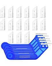 Removedor de lechada – Herramienta profesional para raspar lechada para suelos y azulejos de pared – Herramienta de eliminación de lechada resistente
