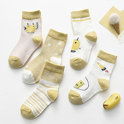 MIWNXM 10 Pares Kids Boys Girls Socks Newborn Infant Toddler Kids Socks Warm Soft Breathable Bunny Rabbit Short Socks
