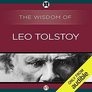 Page de couverture de Wisdom of Leo Tolstoy