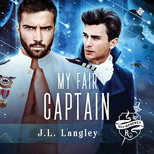 My Fair Captain audiobook cover art
