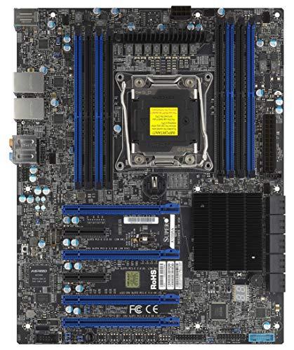 Supermicro X10SRA Intel C612 LGA 2011 (Socket R) ATX Server-/Workstation-Motherboard - Server-/Workstation-Motherboards (ATX, Server, Intel, LGA 2011 (Socket R), 9.6 GT/s, E5-1600,E5-2600)
