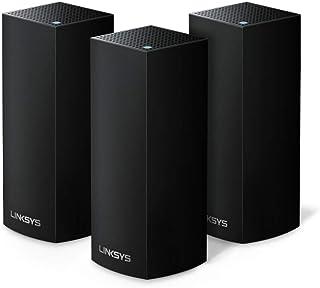 Linksys Velop Tri-Band Mesh-wifi-systeem Tri-bande. 3er Pack - bis zu 6.6 Gbps zwart