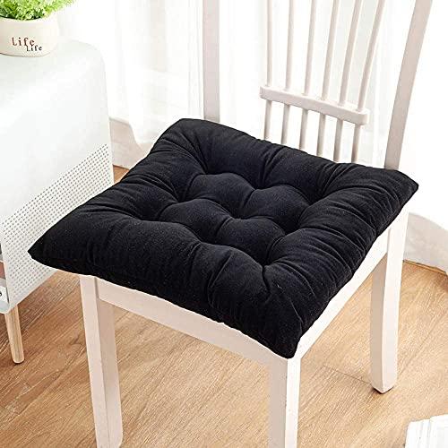 YANJ Cuscini per sedie, Cuscino per Sedia Invernale in Tinta Unita, Cuscino per l'apprendimento dell'home Office, Cuscino sedentario-C_45*45 cm, Cuscino per Poltrona