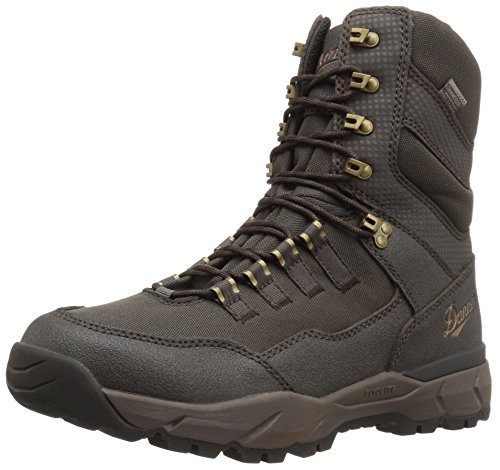 "Danner Men's 41550 Vital 8"" Waterproof Hunting Boot, Brown - 12 D"