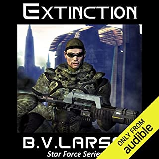 Extinction     Star Force, Book 2               Written by:                                                                                                                                 B. V. Larson                               Narrated by:                                                                                                                                 Mark Boyett                      Length: 12 hrs and 22 mins     4 ratings     Overall 4.3