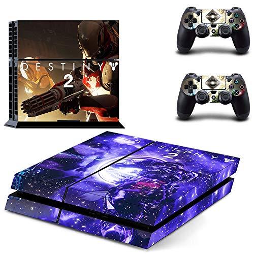 TSWEET Destiny 2 Hunter Ps4 Skin Aufkleber Aufkleber für Playstation 4 Konsole und Controller Skin Ps4 Aufkleber Vinyl Zubehör