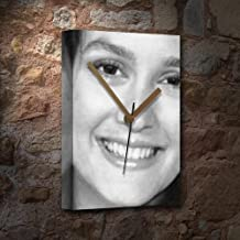 Seasons Leighton Meester - Canvas Clock (A4 - Signed by The Artist) #js004