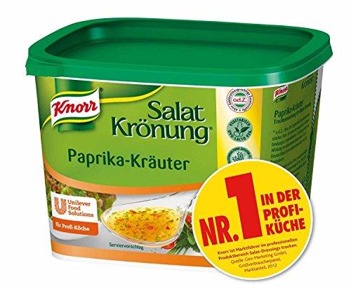 Knorr - Salatkrönung Paprika Kräuter Condimento di Paprika 500g