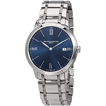 Baume et Mercier Classima Blue Dial Men's Watch MOA10382