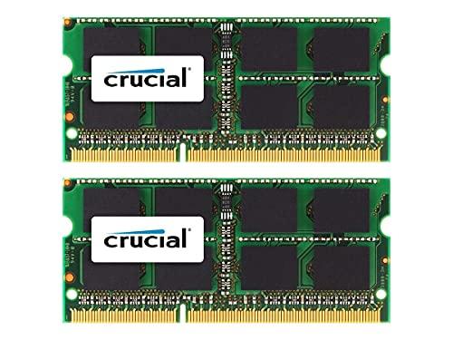 Crucial 8GB - 2 x 4 GB DDR3 1333 MHz