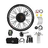 Kit de conversión para bicicleta eléctrica de 28 pulgadas, motor trasero, kit de conversión para rueda trasera, 36 V, 800 W
