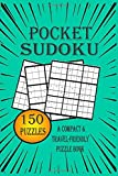 Pocket Sudoku - a compact & travel-friendly puzzle book: only 4 x 6 inches in size | 3 Difficulty Levels | very easy - normal - hard | Pretty Pocket-Size Sudoku Puzzle Book for Adults