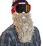 Beardski Honey Badger Ski Mask, Smoke Grey, One Size