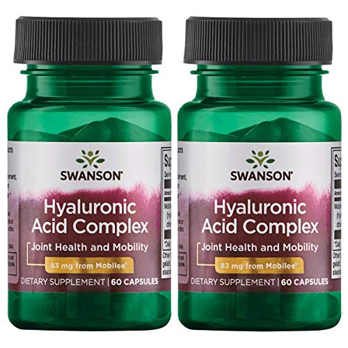 Swanson Hyaluronic Acid Complex 83 mg 60 Caps 2 Pack