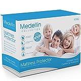 Medellin Collection Premium Hypoallergenic Waterproof King Mattress...