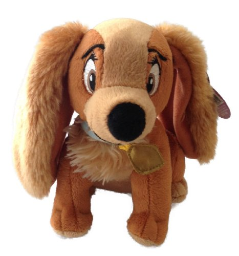 Disney Bean Bag Plush Lady and the Tramp Lady Dog 6
