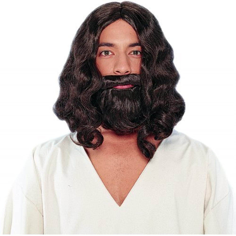 estar en gran demanda Biblical (marrón) Wig Wig Wig And Beard, One Talla, marrón by Franco American Novelty Company  edición limitada