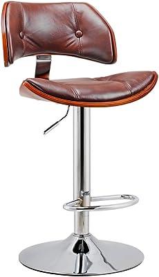 Rotary Retro European Style Front Chair/Fashion Bar Stool/Simple High Stool/Bar