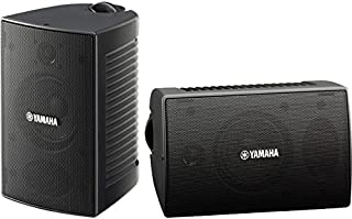 """NSAW194B YAMAHA 4"""" 30W 2-Way High Performance Outdoor Speakers Yamaha NS-AW194B 2-Way Bass Reflex Design, Powerful Woofer Delivers Accurate Mid/Low Frequency Response"""