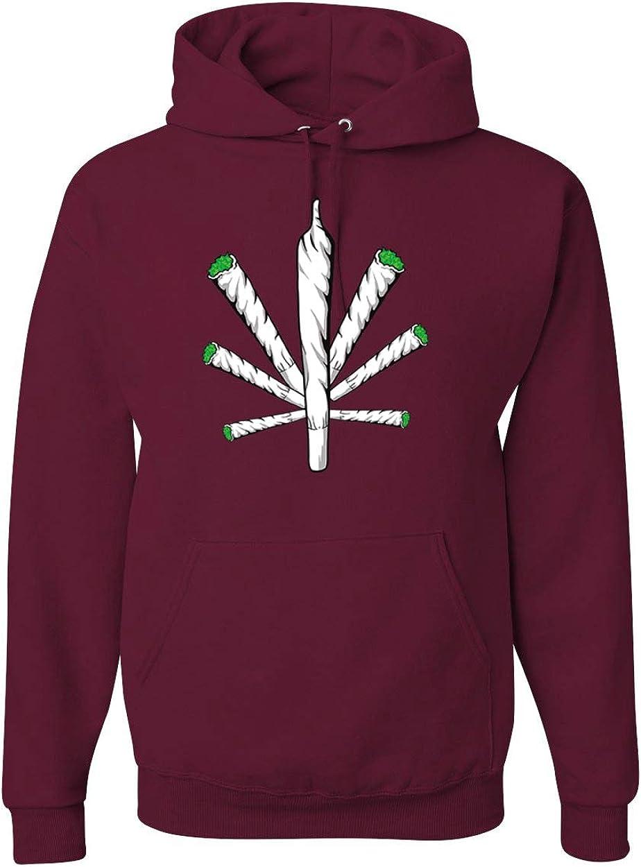 Cross Joint | 420 Legalize Marijuana | Mens Weed Hooded Sweatshi