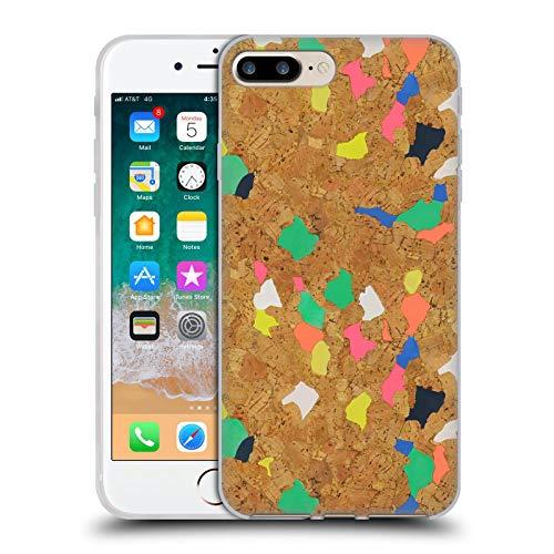 Head Case Designs Licenza Ufficiale Ninola Sughero Colorato Moderno 2 Cover in Morbido Gel Compatibile con Apple iPhone 7 Plus/iPhone 8 Plus