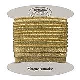 Ribete Lurex Or-ribete dorado de buena calidad – Bordes de costura dorados de buena calidad – Mayorista ribete cosido (por 5 metros)
