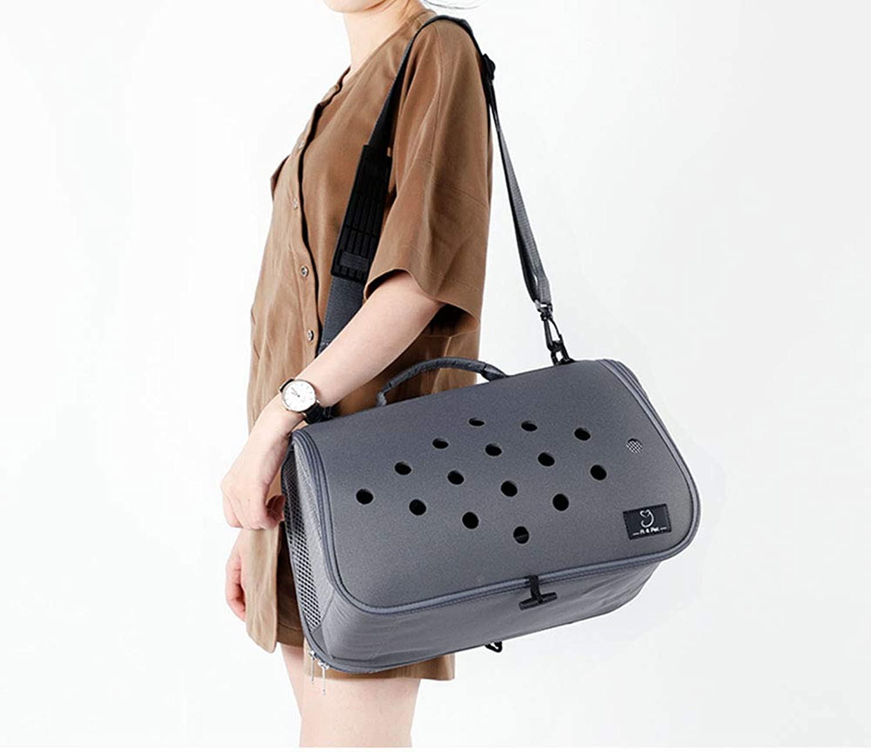 Pet Trolley Case, Multifunction Pgoldus Lightweight Small Pet Travel Portable Handbag Cat & Dog Universal, Pet Supplies