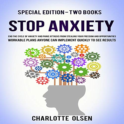 Page de couverture de Stop Anxiety: Special Edition - Two Books